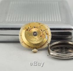 Montre Ancienne Jaeger Automatique Eta 2824 Reglage Micrometrique 1960 Swiss Mad