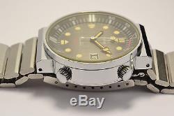 Montre Ancienne Yema Automatique Y11 Plongee Rare Vintage Diver Watch