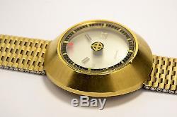 Montre Ancienne Zodiac Astrographic Automatique Mysterieuse 1970 Vintage Watch