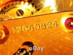Montre Bracelet Omega Homme Or Automatique Annees 1950