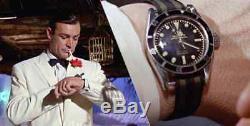 MONTRE HOMME AUTOMATIQUE PARNIS GMT James Bond Rolex Look NEUVE l