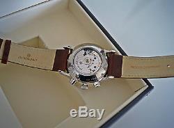 MONTRE JUNGHANS MEISTER CHRONOSCOPE 027/4120.00 Automatique, chronographe acier