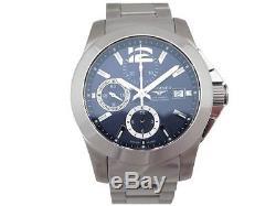 Montre Longines Conquest L3.662.4 41 MM Homme Automatique Acier Watch 1600