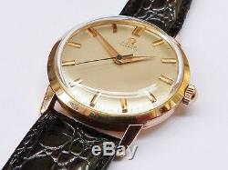 MONTRE OMEGA OR 18K CALIBRE 501 AUTOMATIQUE Watch