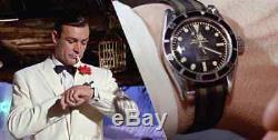 MONTRE PLONGEE HOMME AUTOMATIQUE LOREO 200m Saphir James Bond NEUVE Rolex Look