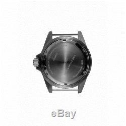 MWC 24 Jewels Automatique 300m Acier Inoxydable Submariner Noir Homme Montre