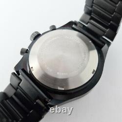 Militaire Lorsa Valjoux 7750 Automatique Chronographe Clone Daydate Montre