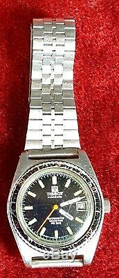 Montre À Bracelet. Tissot. Visodate. Automatique Seastar. Circa 1970