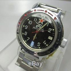 Montre Ancienne Militaire Russe Montre Homme Automatique Vintage Watch