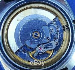 Montre Automatique De Plongée Dièse de 1970 ETA 2789. Étanche 20 atm