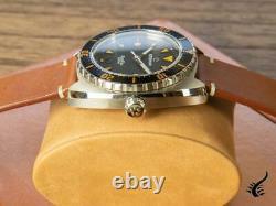 Montre Automatique Eterna Super KonTiki, SW 200-1, Noir, Bracelet en cuir