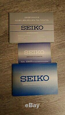 Montre Automatique Seiko Turtle SRPB11K1 Blue Lagoon