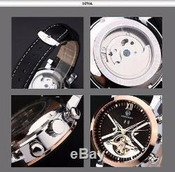 Montre Automatique de Luxe Tourbillon Rétro Forsining Originale homme