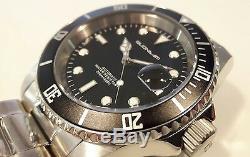 Montre Automatique pour Hommes Quondam Scuba Professional Diver 200 MT Mov. Seiko
