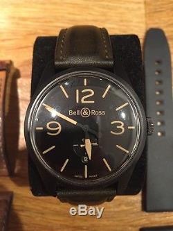 Montre Bell & ross 123 Héritage 3 Bracelets montre Automatique boucle déployante
