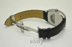 Montre Bracelet Renault Sport Mouvement Mécanique Automatique Bracelet Cuir