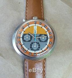 Montre Bullhead chronographe automatique Valjoux 7750