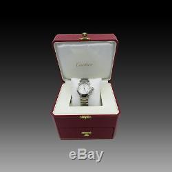 Montre Cartier Pasha 35 mm en acier. Ref 2324. Automatique. Vers 2010