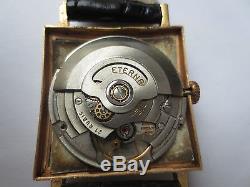 Montre Eterna Matic Centenaire automatique en or 18K calibre 1438U