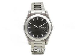 Montre Gucci Pantheon 115.2 44 MM Automatique Acier Argent Watch Steel 1600