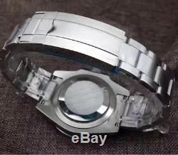 Montre Homme Automatique Style Submariner Lunette céramique noir