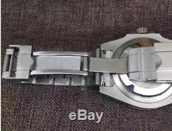 Montre Homme Automatique Style Submariner Lunette céramique noire