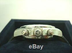 Montre Homme Baume & Mercier Malibu Acier/cuir Chronographe Automatique R77136