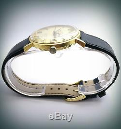 Montre Homme Vintage TISSOT SEASTAR Automatique or jaune 18 carats N