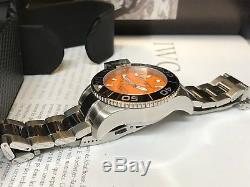 Montre Homme YEMA modèle Sous-Marine Automatique Orange