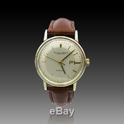 Montre IWC Vintage en Or jaune 18k vers 1960. Automatique. 34 mm