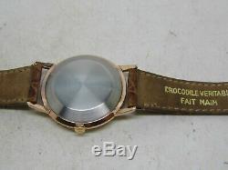 Montre JAEGER LECOULTRE Automatique boite plaqué or mouvement K881 vers 1960