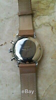 Montre Junghans Max Bill Chronoscope 27 4501.00 Automatique papiers, facture