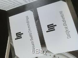 Montre LIP Automatique 40 mm, cuir marron, étanche 50M, neuve avec papiers
