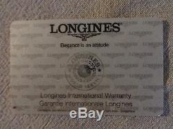 Montre LONGINES HydroConquest automatique cadran noir 41mm