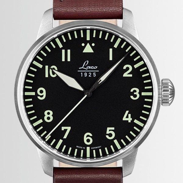 Montre Laco 1925 Pilot Watches Basic Augsburg Automatique