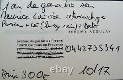 Montre Maurice Lacroix Masterpiece Cronéo Automatique chronographe N° 39701