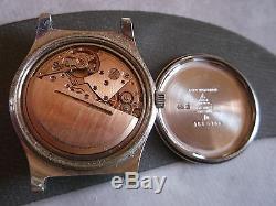 Montre Oméga automatique, automatic steel wristwatch OMEGA Armbanduhr reloj