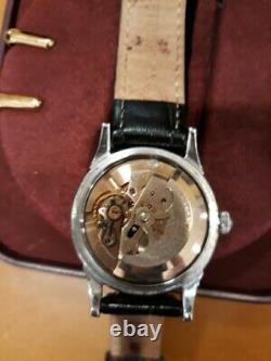 Montre Omega Constellation Automatique Chronométre Acier Cadran Noir Origine