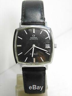 Montre Oméga Genève mouvement automatique 565 réf 162.010 vintage omega 1970