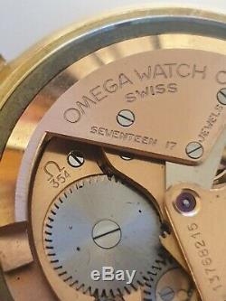 Montre Oméga Seamaster automatique en Or 18k. Cal 354 parchoc