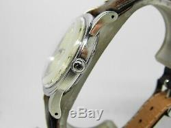 Montre Oméga automatique Bumper acier cal 351 de 1947 vintage omega ref 2577-3