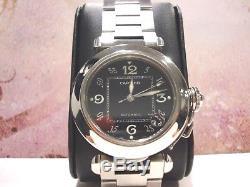 Montre Pasha De Cartier Acier Dateur Automatique Ø 40 MM Garantie 1 An R76045