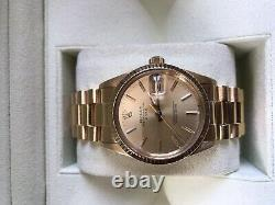 Montre Rolex Oyster Perpetual Date Or Jaune Automatique
