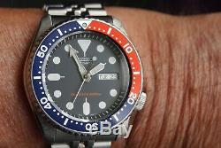 Montre Seiko 200m Pepsi Automatique Diver's Skx009k2