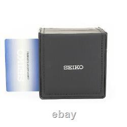 Montre Seiko 5 Noir Acier Inoxydable Automatique Pour Hommes Snzf17