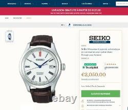 Montre Seiko Presage Men's Automatique SPB095J1