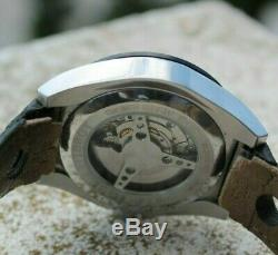 Montre TISSOT Homme Automatique PRS516 bracelet cuir