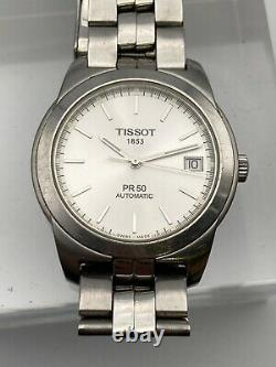 Montre Tissot Pr50 Automatique Acier Saphir Homme