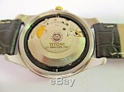 Montre Titoni Automatique Homme Montre Date de Calendrier
