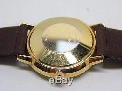 Montre YEMA Automatique boite plaqué or mouvement mécanique NOS vers 1950
